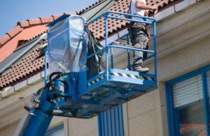 Servicio de limpieza de canalones en Valladolid